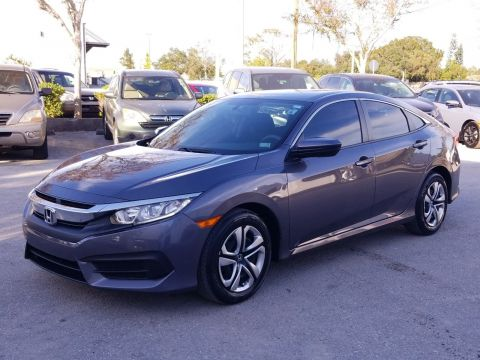 Pre-Owned 2017 Honda Civic LX FWD Sedan