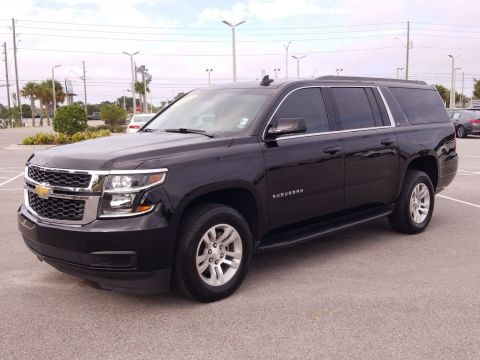 Pre-Owned 2017 Chevrolet Suburban LT RWD SUV