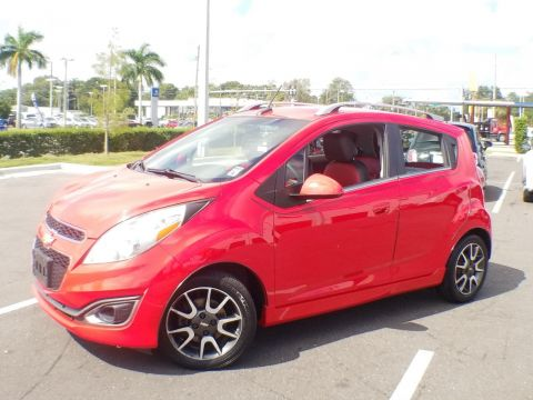 Pre-Owned 2013 Chevrolet Spark LT FWD Sedan