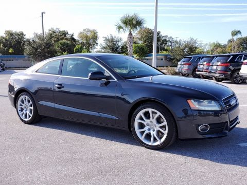 Pre-Owned 2012 Audi A5 2.0T Premium Plus AWD Coupe