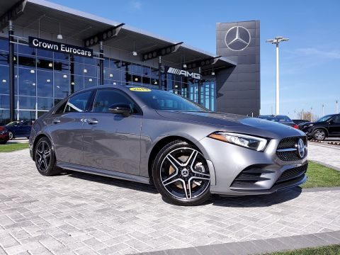 Pre-Owned 2019 Mercedes-Benz A-Class A 220 FWD 4dr Car