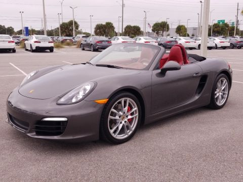 Pre-Owned 2013 Porsche Boxster S RWD Convertible