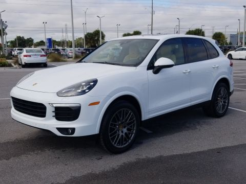 Pre-Owned 2018 Porsche Cayenne Platinum Edition AWD SUV
